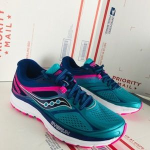 6f5227bc5de4 Saucony Shoes - Saucony Womens Guide 10 Pink Running S10350-3 Sz 7